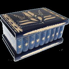Romanian Puzzle Box - Extra Large Blue -