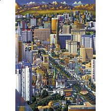 Las Vegas - 1000 Pieces