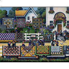 Amish Quilts - 500-999 Pieces