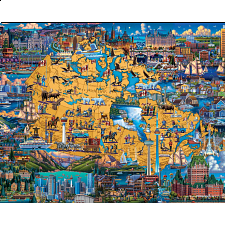 Best of Canada - 500-999 Pieces