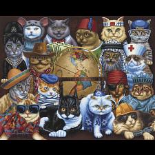 Cats Around the World -