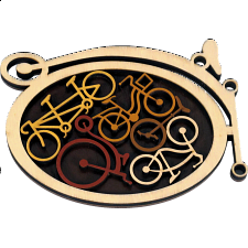 Constantin Puzzles: Bike Shed - Other Wood Puzzles
