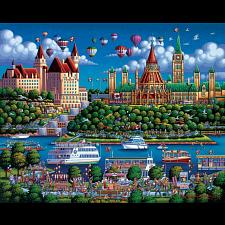 Ottawa River - 1000 Pieces