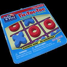 Take 'N' Play Anywhere Tic-Tac-Toe Magnetic Game Tin -