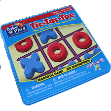 Take 'N' Play Anywhere Tic-Tac-Toe Magnetic Game Tin -