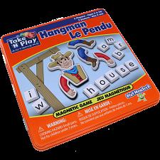 Take 'N' Play Anywhere Hangman Magnetic Game Tin -