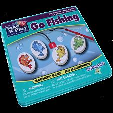 Take 'N' Play Anywhere Go Fishing Magnetic Game Tin -
