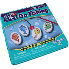 Take 'N' Play Anywhere Go Fishing Magnetic Game Tin -