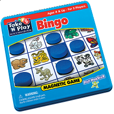 Take 'N' Play Anywhere Bingo Magnetic Game Tin -