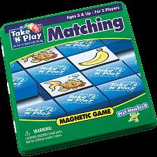 Take 'N' Play Anywhere Matching Magnetic Game Tin -