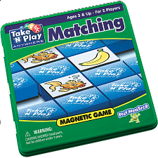 Take 'N' Play Anywhere Matching Magnetic Game Tin -