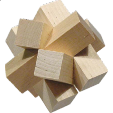 The Cube - European Wood Puzzles