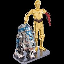 Metal Earth: Star Wars - R2-D2 & C-3PO Gift Box Set -
