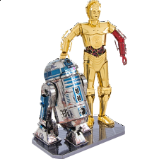 Metal Earth: Star Wars - R2-D2 & C-3PO Gift Box Set -