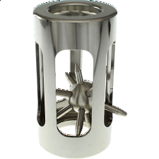 Hedgehog in a Cage: Classic Stainless -