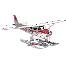 Metal Earth - Cessna 182 Floatplane - Search Results