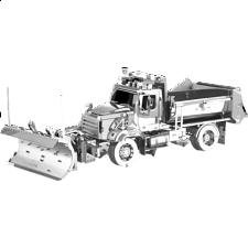 Metal Earth: Freightliner - 114SD Snow Plow -