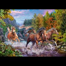 Rushing River Horses - Jigsaws