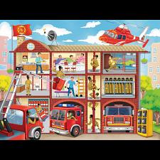Firehouse Frenzy - Jigsaws