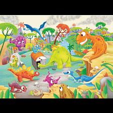Time Traveling Dinos - Jigsaws