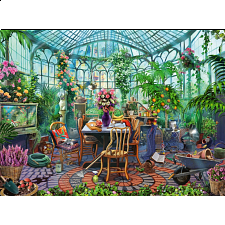 Greenhouse Morning - Jigsaws