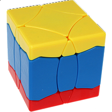 BaiNiaoChaoFeng Cube (Yellow-Blue-Red) - Stickerless - Rubik's Cube & Others