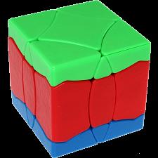 BaiNiaoChaoFeng Cube (Blue-Red-Green) - Stickerless -