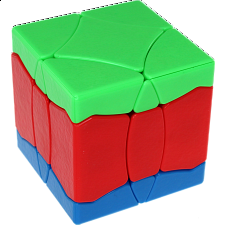 BaiNiaoChaoFeng Cube (Blue-Red-Green) - Stickerless - Rubik's Cube & Others
