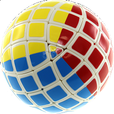 Tony Mini 5x5x5 Ball - White Body (Limited Edition) - Rubik's Cube & Others