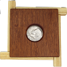 Caged Coin - Wood Puzzles