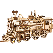 ROKR Wooden Mechanical Gears  - Locomotive -