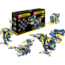 12-in-1 Solar Hydraulic Robotic Kit - Search Results
