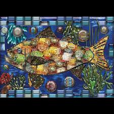Mosaic Fish -