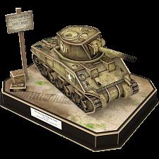 Armibuild U.S. M4A4 Sherman Tank - 3D Push-Fit Model - New Items