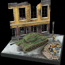 Armibuild Soviet T-34/85 Tank - 3D Push-Fit Model -