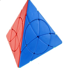 YJ Crazy Pyraminx - Stickerless -