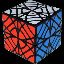 Twins Cube (Skewb Version) - Black Body -
