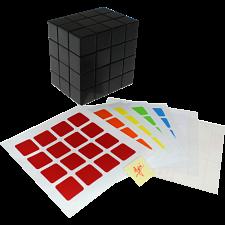 Fully Functional 4x4x3 Cube - Black Body - DIY -