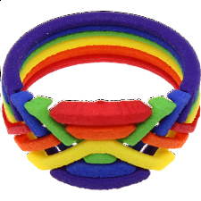Rainbow Ring - Puzzle Rings