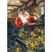 Santa's Railway - Large Piece - Search Results