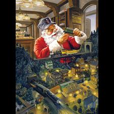 Santa's Railway - Large Piece - Jigsaws