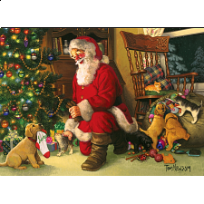 Santa's Lucky Stocking - Family Pieces Puzzle - New Items