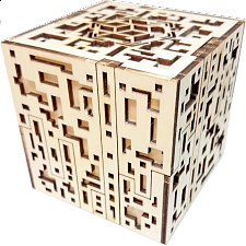 Silver City Kit - Wooden DIY Puzzle Box - 3D Wooden Puzzles