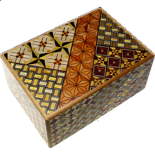 4 Sun 12 Step Koyosegi - Wood Puzzles