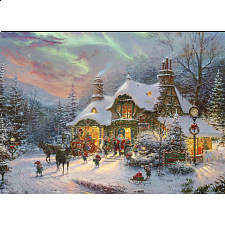Thomas Kinkade: Santa's Night Before Christmas - New Items