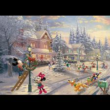Thomas Kinkade: Disney - Mickey's Victorian Christmas - New Items