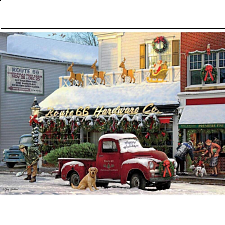 Classic Christmas: Route 66 Hardware - 1000 Pieces