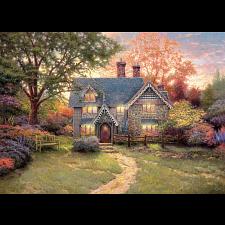 Thomas Kinkade - Gingerbread Cottage - Thomas Kinkade