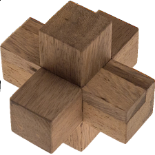 Timonen's Burr Simple - Wood Puzzles