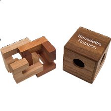 Benedettis Rotation - Wood Puzzles